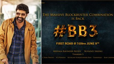NBK 106 First Look Starring Nandamuri Balakrishna to Be Released on the Eve of Superstar's Birthday; Fans Trend #BB3Roar on Twitter