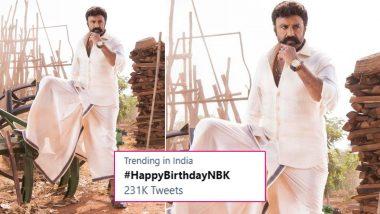 Nandamuri Balakrishna Fans Shower Birthday Wishes on the Actor A Day Prior to Birthday, Trend '#HappyBirthdayNBK'