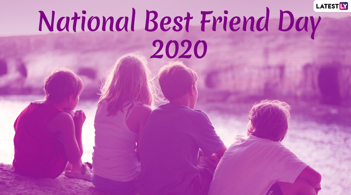 Missed Sending National Best Friend Day 2020 Wishes Hd Images Say Belated Happy Bff Day With These Whatsapp Stickers Gif Greetings And Hike Messages
