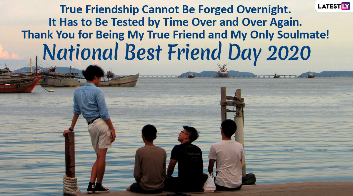 Happy National Best Friend Day 2020 Messages: WhatsApp ...