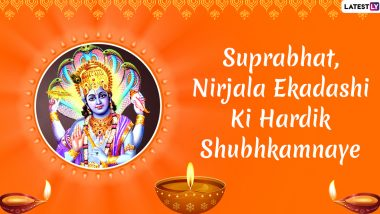 Nirjala Ekadashi 2020 Images & HD Wallpapers for Free Download Online: Wish Good Morning on Auspicious Day With WhatsApp Stickers and GIF Greetings