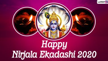 Nirjala Ekadashi 2020 Date (Tithi) and Shubh Muhurat: Know Vrat Significance and Puja Vidhi of Dry Fasting Equivalent to 24 Ekadashis