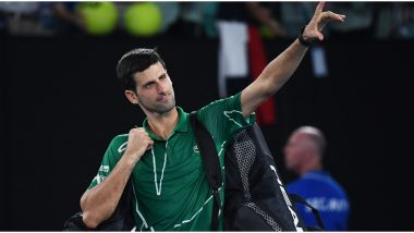 Novak Djokovic Tests Positive for COVID-19, Fans Pray for The Speedy Recovery of Serbian Tennis Star