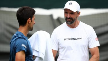 Novak Djokovic's Tennis Coach Goran Ivanisevic Confirms He Has Tested Positive for Coronavirus (See Post)
