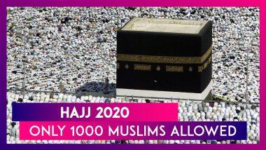 Saudi Arabia To Allow Around 1000 Muslim Pilgrims To Perform Hajj This Year Due To COVID-19 Pandemic