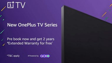 OnePlus Smart TV Pre-Bookings Open via Amazon India, How to Pre-Order OnePlus' Affordable TV
