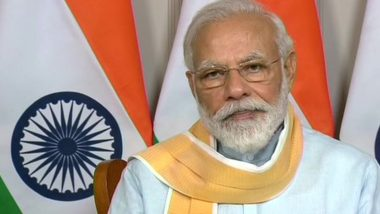 PM Narendra Modi to Meet Chief Ministers of All States & UTs Today & Tomorrow to Discuss COVID-19 Situation