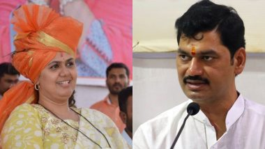Pankaja Munde, BJP Leader, Dials Maharashtra Minister Dhananjay Munde After He Was Tested Positive for Coronavirus, Says 'Take Care and Get Well Soon'