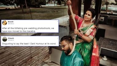 Pre-Wedding Photoshoot Shows a Suicide Scene Between To-Be Husband and Wife, Angry Netizens Slam The Idea for Mocking Such a Serious Issue