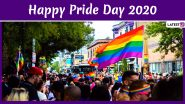 Pride Day 2020 Wishes and HD Images: WhatsApp Stickers, Facebook Messages, GIFs and Greetings to Celebrate LGBT Pride Month