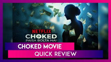 Choked Movie Review: Anurag Kashyap's Netflix Film Is An Inconsistent Thriller