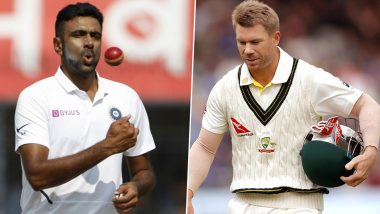 R Ashwin Pokes Fun at David Warner As Indian Government Announces Ban on TikTok and 58 Other Chinese Apps