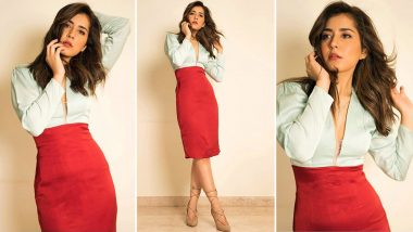 Raashi Khanna Gives Colourblocking a Chic Spin, Here's How!