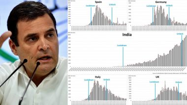 'Failed Lockdown': Rahul Gandhi Targets Modi Govt, Compares India's COVID-19 Stats With Italy, Spain, UK and Germany