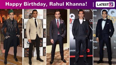 Rahul Khanna Birthday Special: Urbane, Suave and Perennially Dapper, the Boutique Actor Charms and How!