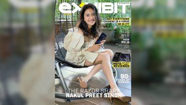 Rakul Preet Singh Is Razor Sharp Slick for a Self-Shot Exhibit Magazine Cover This Month!