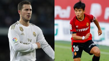 Real Madrid vs Mallorca, La Liga 2019–20: Eden Hazard, Takefusa Kubo and Others Players to Watch Out in RM vs MLC Football Match