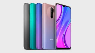 Redmi 9 Smartphone with MTK Helio G80 SoC Launched; Check Prices, Features, Variants & Specifications