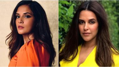 Neha Dhupia, Richa Chadha React to the Shocking Viral Video Of Woman Employee in Nellore Getting Attacked by a Male Colleague (Read Tweets)