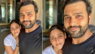 Rohit Sharma Shares Post Workout Picture With Wife Ritika