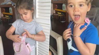 Karan Johar Calls His Son Yash a 'Jewel Thief' In Another Adorable Video Shared By Him!