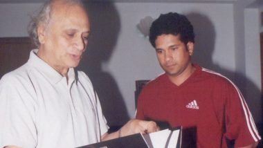 Sachin Tendulkar Remembers His Father's 'Invaluable Advice' on Father's Day 2020 (View Post)