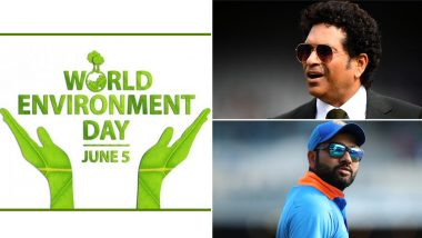 World Environment Day 2020: Sachin Tendulkar, Rohit Sharma and Other Indian Cricketers Urge People to Protect Mother Earth