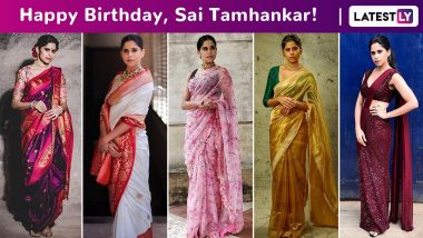 Sai Tamhankar Birthday Special: Polished Style With an Always Sassy Undertone, She Is the Quintessential Marathi Girl Uninterrupted!