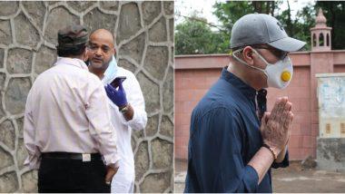Wajid Khan Funeral: Brother Sajid Khan, Aditya Pancholi Bid an Emotional Goodbye to the Composer