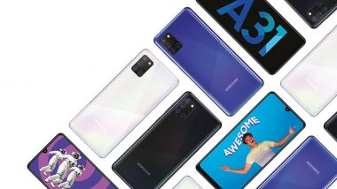 Samsung Galaxy A31 Launching Today at 2PM in India; Watch LIVE Streaming of Samsung's Launch Event