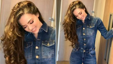Sana Khaan Does Denim on Denim and Its Brilliantly Chic!