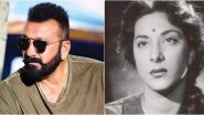 Nargis Birth Anniversary: Sanjay Dutt Says 'Miss You Ma' As He Shares a Beautiful Video Post Remembering His Mother