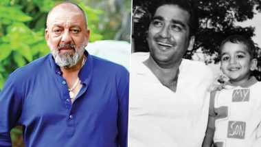 Sanjay Dutt Goes Down Memory Lane, Shares a Childhood Photo on His Father Sunil Dutt's 91st Birth Anniversary (View Post)