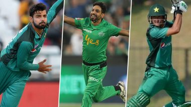 Shadab Khan, Haris Rauf and Haider Ali Test Positive for Coronavirus; Trio Part of Pakistan Squad for England Tour