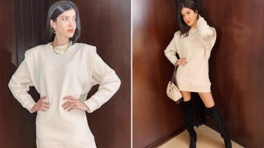 Shanaya Kapoor Swears by Her Thigh-High Boots in This Throwback Image!
