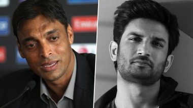 Shoaib Akhtar Recalls His First Interaction With Sushant Singh Rajput, Says 'Regret Not Talking to Him' (Watch Video)