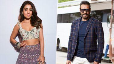 RRR: Shriya Saran to Play Ajay Devgn's Wife in SS Rajamouli's Magnum Opus?