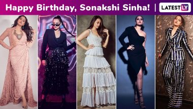 Sonakshi Sinha Birthday Special: Embarking on a Rollercoaster Fashion Adventure of Chicness, Risque and Spectacular Every Day, a Meticulous Fashion Arsenal Happens!