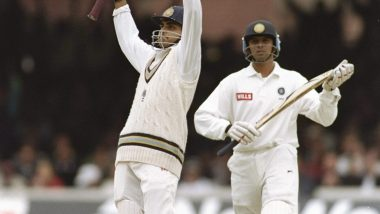 This Day That Year: Sourav Ganguly Scored a Magnificent Century Against England at Lord's on Test Debut