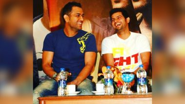 'To Moments That Matter': Suresh Raina Shares Throwback Picture With MS Dhoni
