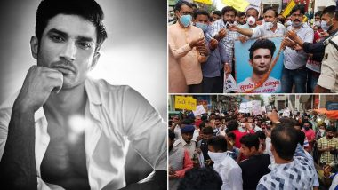 Sushant Singh Rajput's Suicide: Fans in Patna Hold A Rally in Support of the Late Star, Demand Ban on Nepotism (Watch Video)