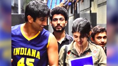 Sushant Singh Rajput's Dil Bechara Co-Star Sanjana Sanghi Reaches Bandra Police Station To Record Her Statement (Watch Video)