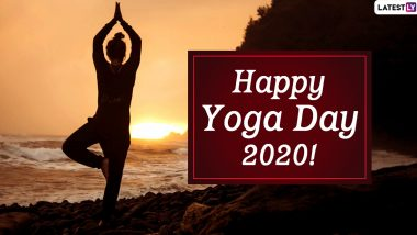 International Yoga Day 2020 Wishes & HD Images: WhatsApp Stickers, Happy Yoga Day Messages, Facebook Greetings, Quotes and GIFs to Encourage the Practice of Yoga