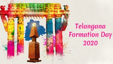 Happy Telangana Formation Day 2020 Wishes & HD Images: WhatsApp Status, Messages and Facebook Greetings to Celebrate the State Formation Day on June 2
