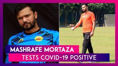 Mashrafe Mortaza, Former Bangladesh Cricket Team Captain, Tests Positive For Coronavirus