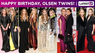 Mary Kate and Ashley Olsen Birthday Special: Perennially Bohemian Chic With a Dewy Glam in Tow, the Twins Stir Up a Silent Sartorial Storm!