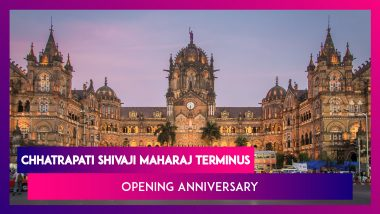 Chhatrapati Shivaji Maharaj Terminus Opening Anniversary: Historical Facts About CST - India's One of Busiest Railway Stations