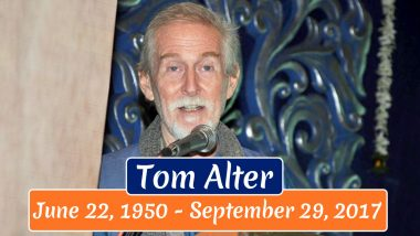 Tom Alter 70th Birth Anniversary: Interesting Facts About the Indian Actor of American Descent Who Wowed Fans With His Impeccable Talent