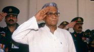 George Fernandes Birth Anniversary: Dr Harsh Vardhan, Suresh Prabhu And Other Political Leaders Pay Tribute to Former Defence Minister