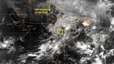 Cyclone Nisarga Update: Deep Depression Weakens into Depression Over Maharashtra, Says IMD